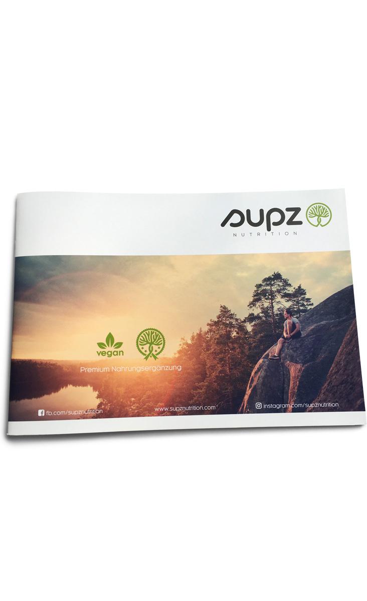 Broschüre / Katalog Supz Produkte DE
